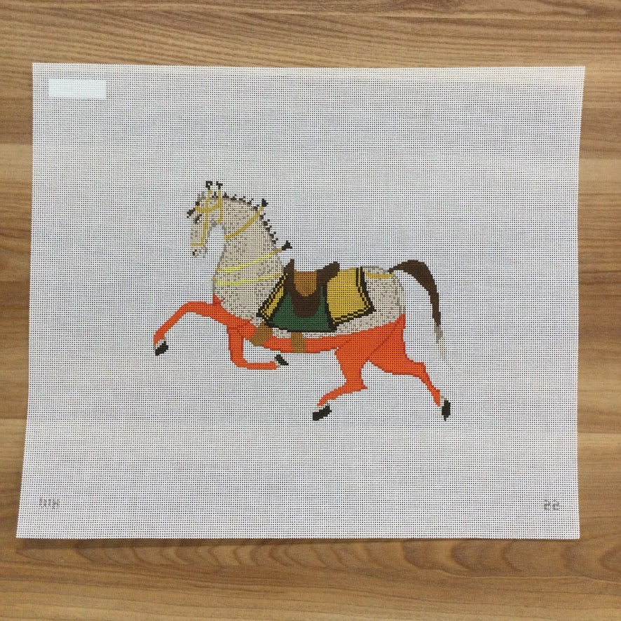 Plum the Horse Canvas