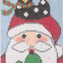 Merry Cluckin' Christmas-Needlepoint Canvas-Wellesley Needlepoint-KC Needlepoint