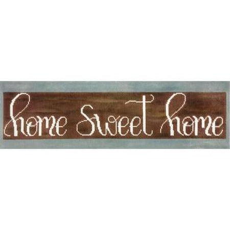 Home Sweet Home Canvas - needlepoint