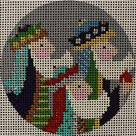Three Kings Canvas - KC Needlepoint