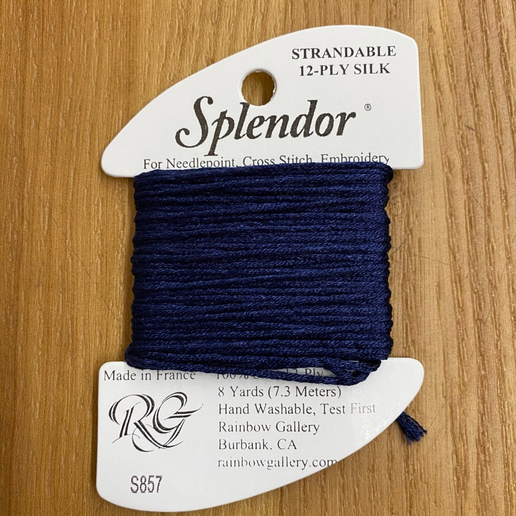 Splendor S857 Navy Blue - KC Needlepoint