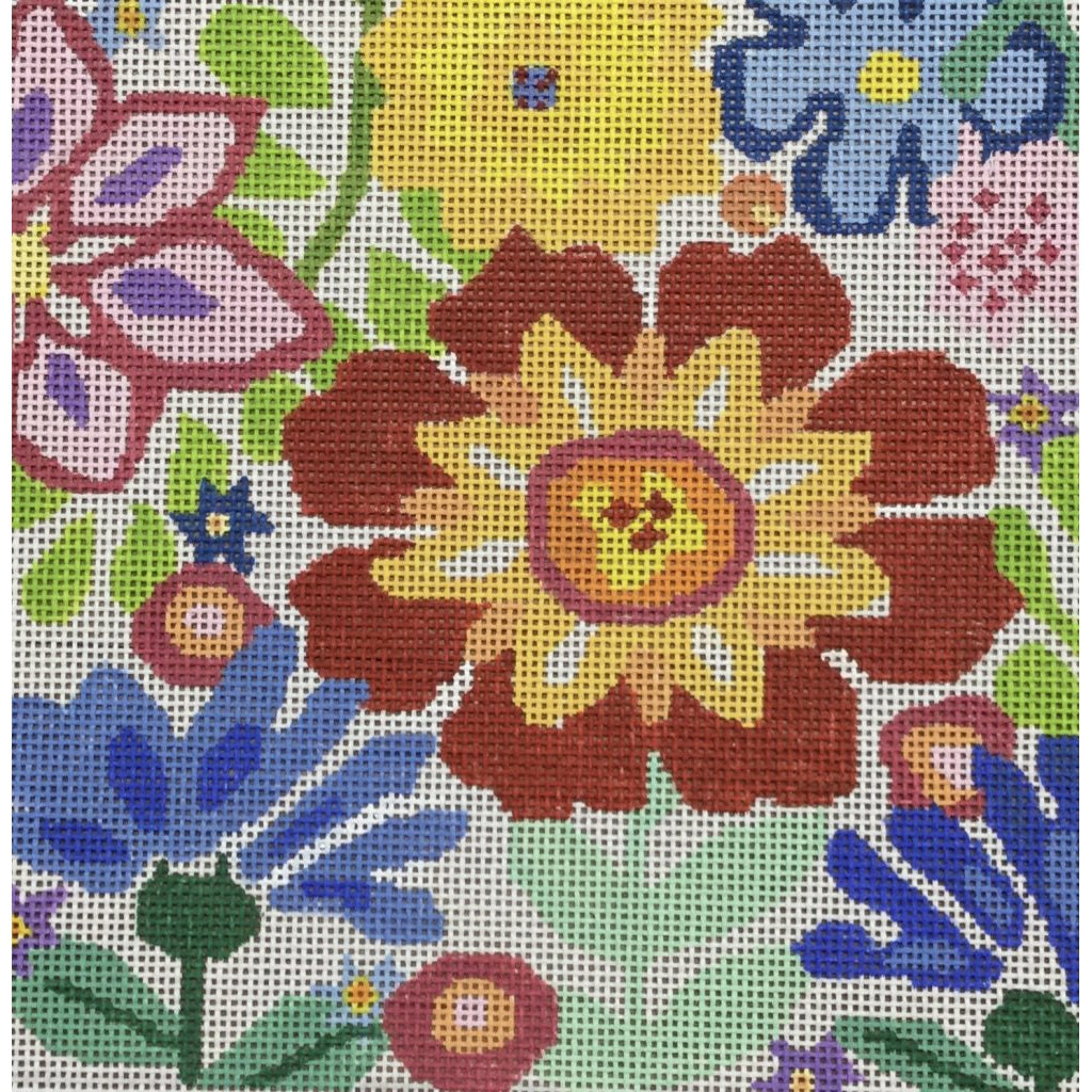 Small Fantasy Garden 3 Canvas - KC Needlepoint