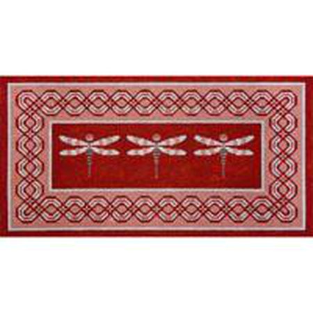 Dragonflies Needlepoint Canvas - KC Needlepoint