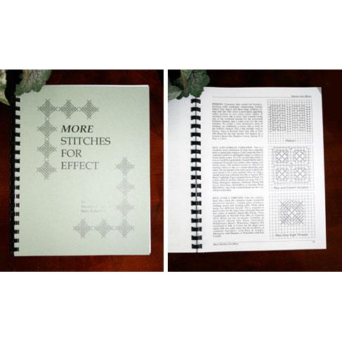 More Stitches for Effect Book-Accessories-Caron Collection-KC Needlepoint