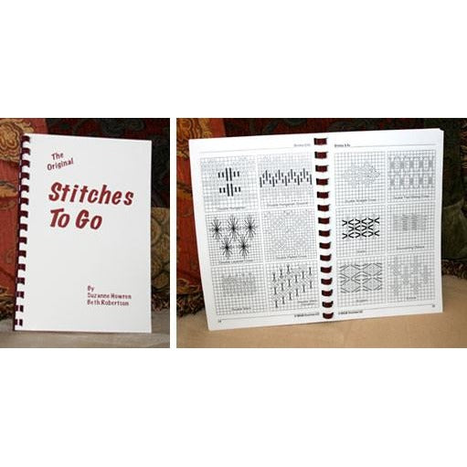 The Original Stitches to Go Book-Accessories-Caron Collection-KC Needlepoint