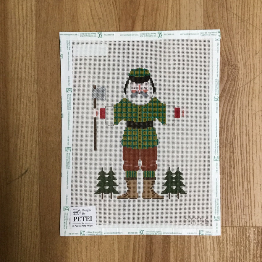 Paul Bunyan Canvas-Needlepoint Canvas-KC Needlepoint