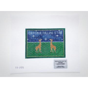 Catch a Falling Star Canvas-Needlepoint Canvas-Thorn Alexander-KC Needlepoint