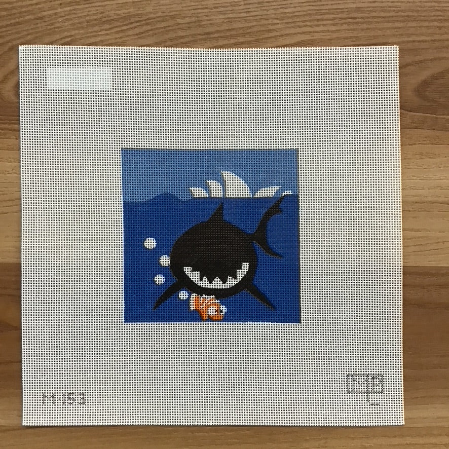Finding Nemo Movie Coaster Canvas - KC Needlepoint