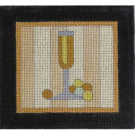 Champagne Canvas - needlepoint