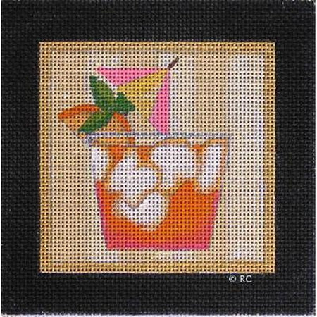 Mai Tai Canvas-Needlepoint Canvas-Raymond Crawford-KC Needlepoint