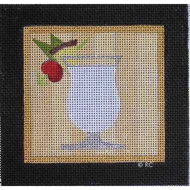 Pina Colada Canvas-Needlepoint Canvas-Raymond Crawford-KC Needlepoint