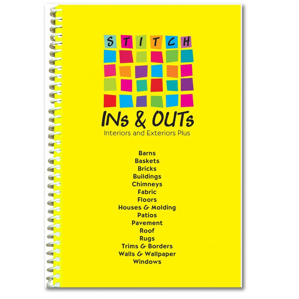 Stitch Ins and Outs Book - needlepoint