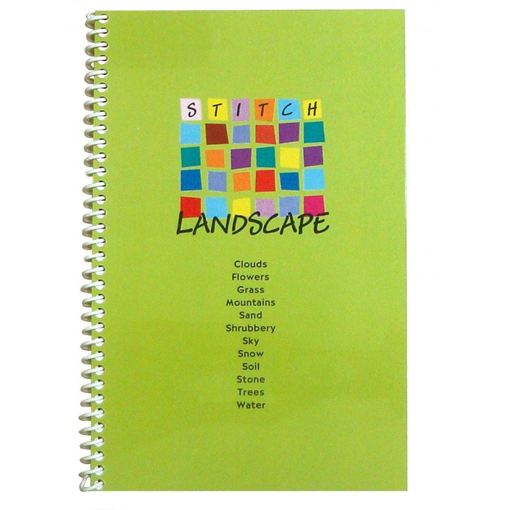 Stitch Landscape Book - needlepoint