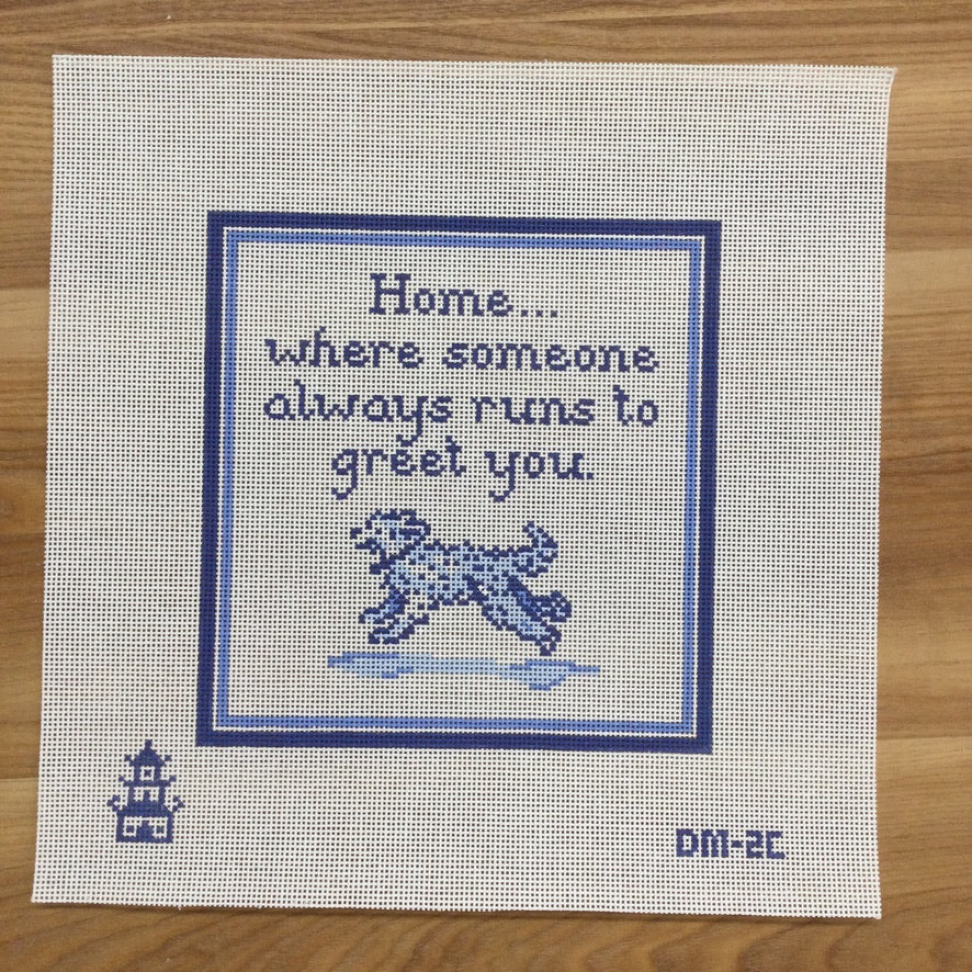 Home is Where... Doodle Canvas