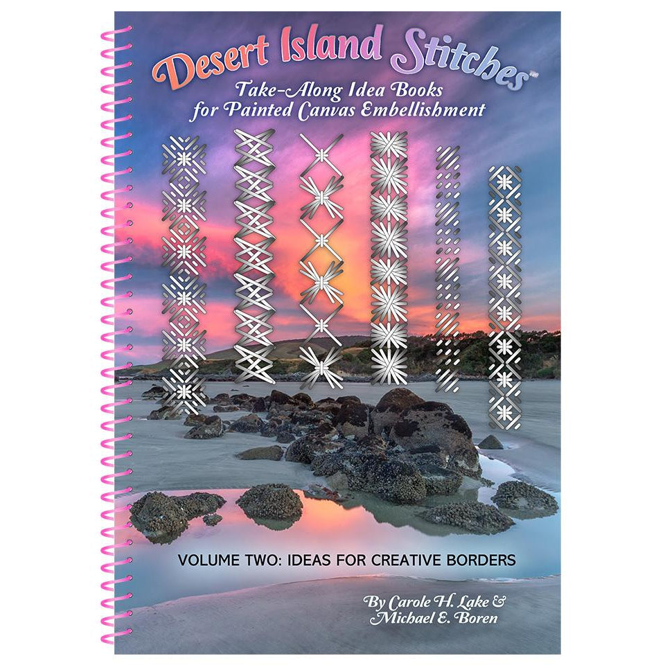 Desert Island Stitches Volume 2 Book-Accessories-Rainbow Gallery-KC Needlepoint