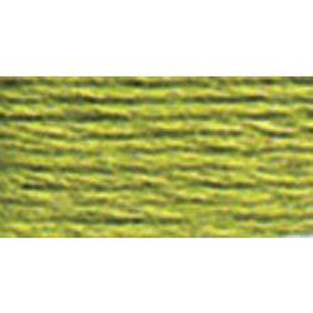 DMC 3 Pearl Cotton 471</br>Very Light Avocado Green - KC Needlepoint