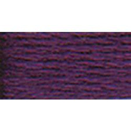 DMC 3 Pearl Cotton 550</br>Very Dark Violet - needlepoint