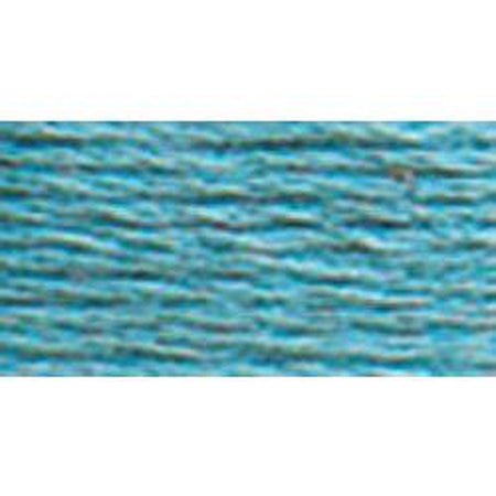 DMC 3 Pearl Cotton 597</br>Turquoise - needlepoint
