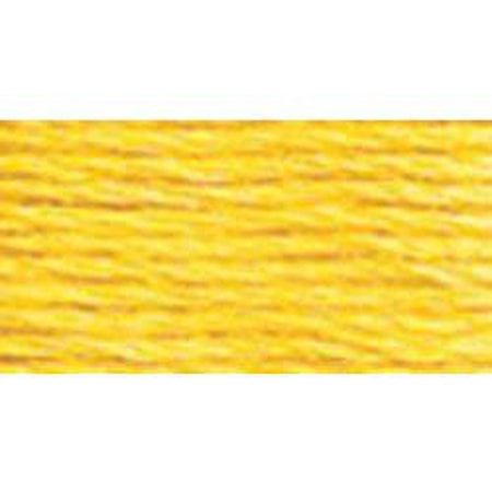 DMC 3 Pearl Cotton 726</br>Light Topaz - KC Needlepoint