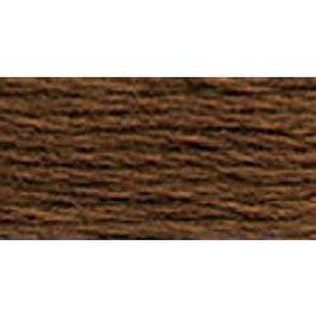 DMC 3 Pearl Cotton 801</br>Dark Coffee Brown - KC Needlepoint