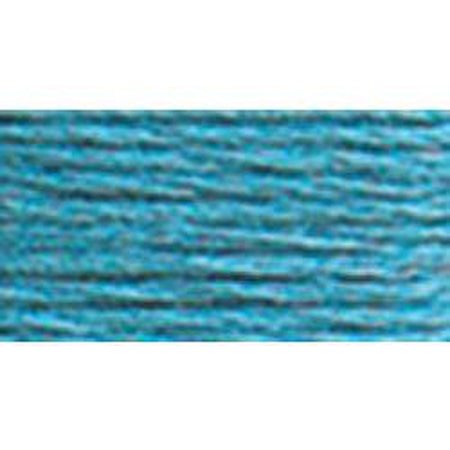 DMC 5 Pearl Cotton 807</br>Peacock Blue - needlepoint