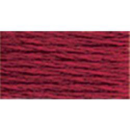 DMC 3 Pearl Cotton 815</br>Medium Garnet - KC Needlepoint
