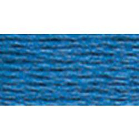DMC 5 Pearl Cotton 825</br>Dark Blue - needlepoint