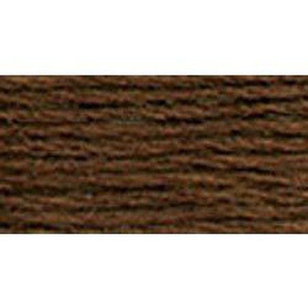 DMC 3 Pearl Cotton 898</br>Very Dark Coffee Brown - KC Needlepoint