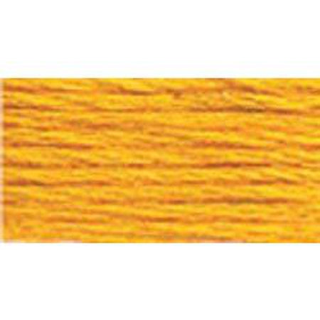 DMC 3 Pearl Cotton 972</br>Deep Canary - KC Needlepoint