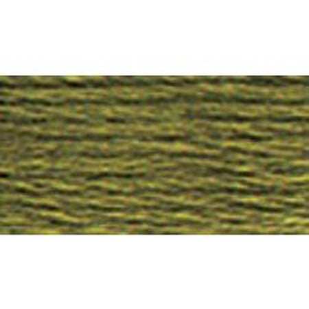 DMC 3 Pearl Cotton 3011</br>Dark Khaki Green - needlepoint
