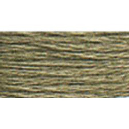 DMC 3 Pearl Cotton 3022</br>Medium Brown Gray - needlepoint