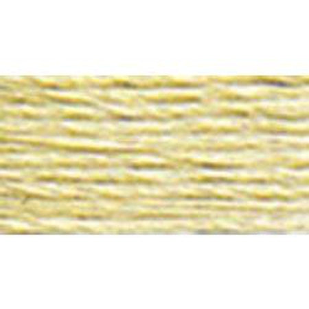 DMC 5 Pearl Cotton 3047</br>Light Yellow Beige - KC Needlepoint