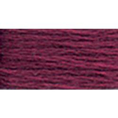 DMC 3 Pearl Cotton 3685</br>Dark Mauve - KC Needlepoint