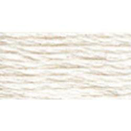 DMC 5 Pearl Cotton BLANC</br>White - needlepoint