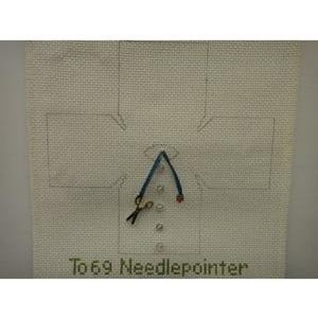 Needlepointer Topper Canvas - needlepoint