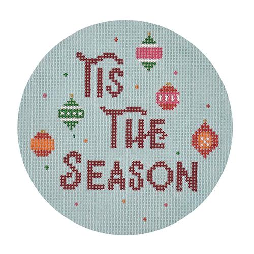 Tis the Season Canvas-Needlepoint Canvas-Burnett & Bradley-KC Needlepoint