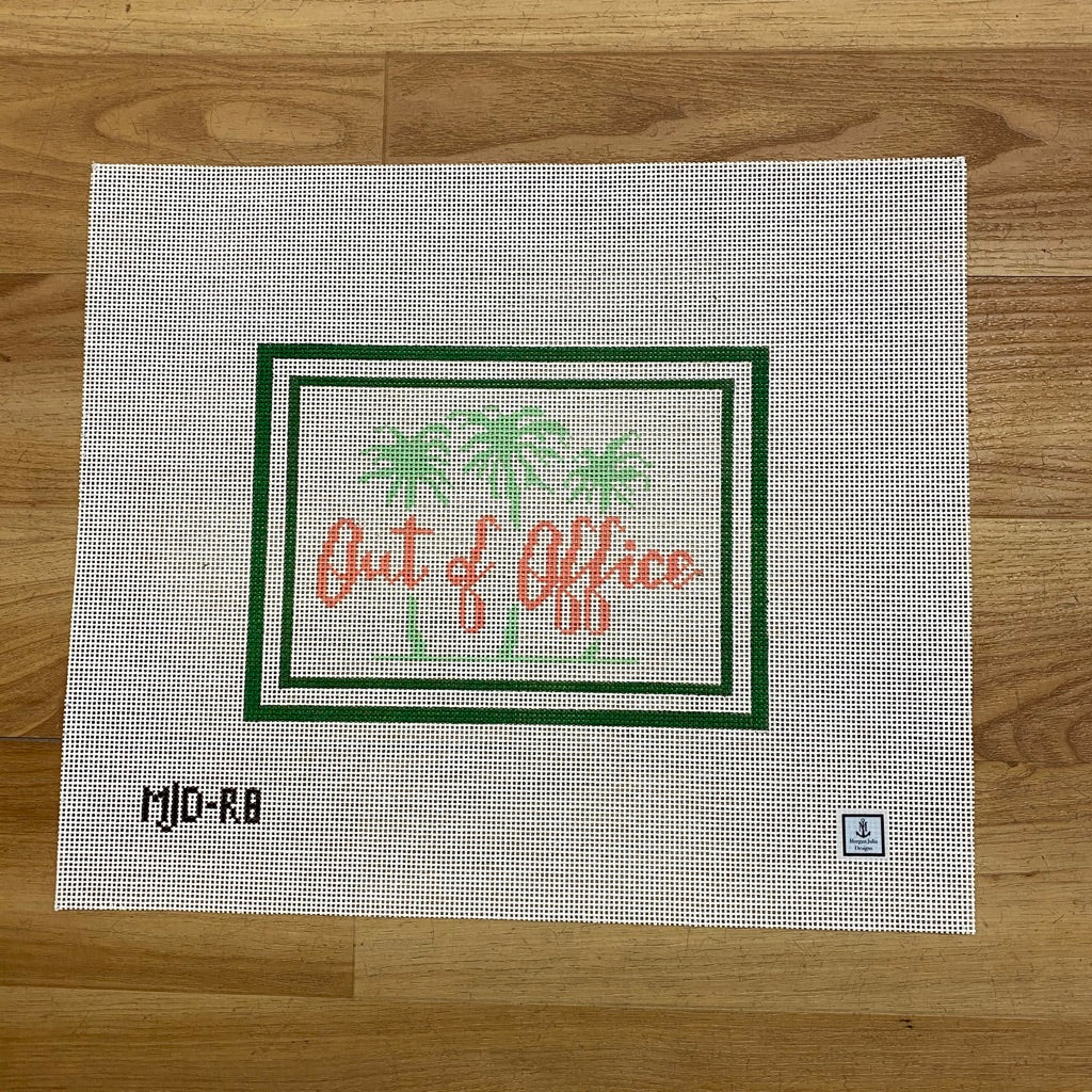 Out of Office Canvas-Needlepoint Canvas-KC Needlepoint
