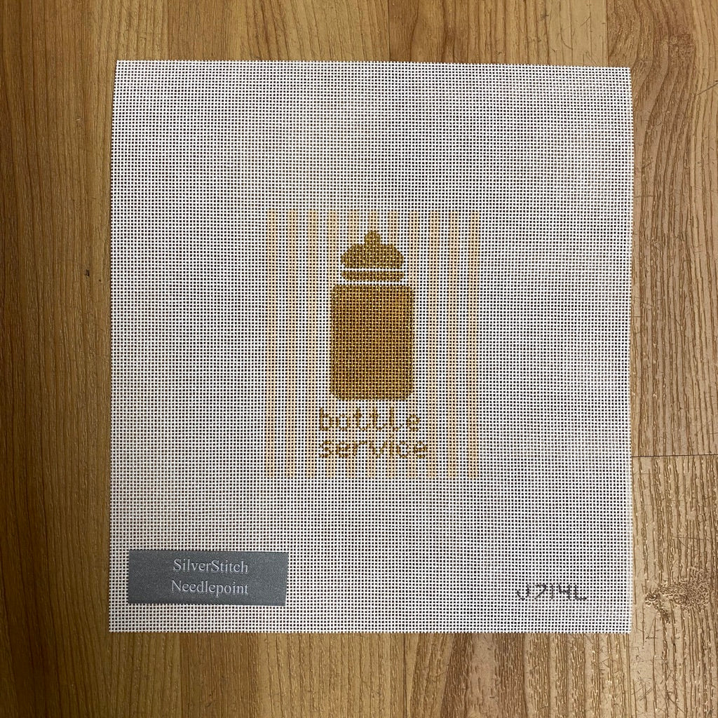 Bottle Service Canvas - KC Needlepoint