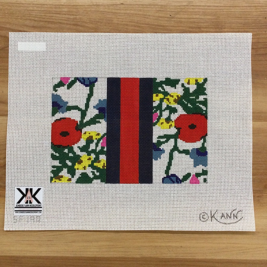 Kimberly's Garden Canvas - KC Needlepoint