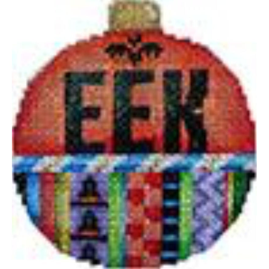 Eek Ball Canvas - needlepoint