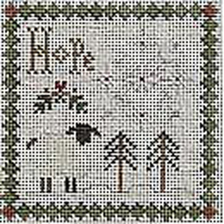 Hope Canvas-Needlepoint Canvas-Ewe & Eye-KC Needlepoint