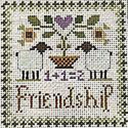 Friendship Canvas-Needlepoint Canvas-Ewe & Eye-KC Needlepoint