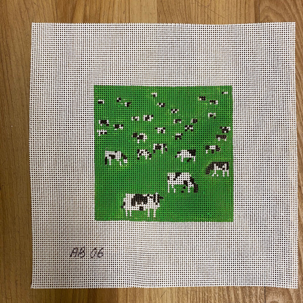 Grazing Canvas-Needlepoint Canvas-KC Needlepoint