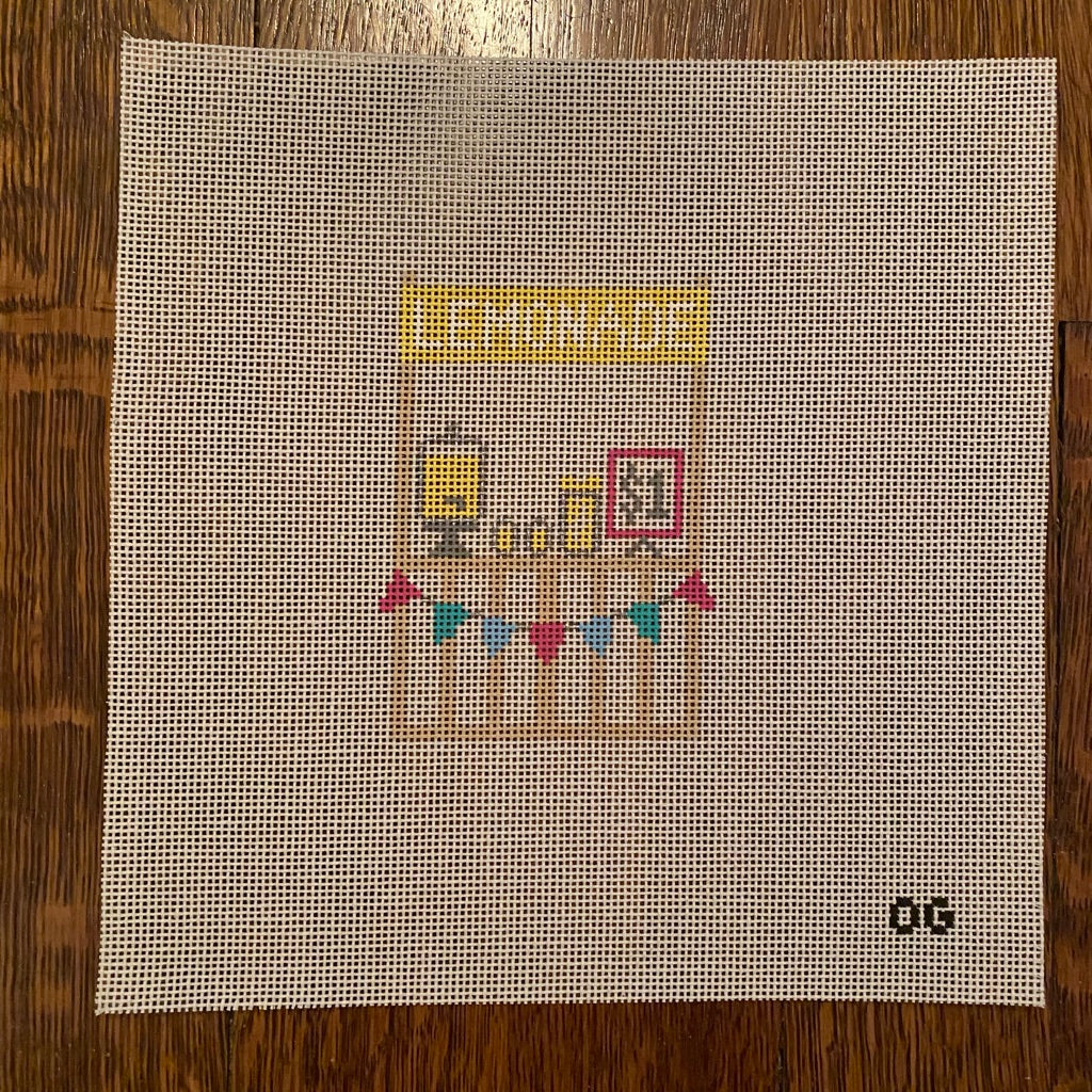 Lemonade Stand Canvas - KC Needlepoint