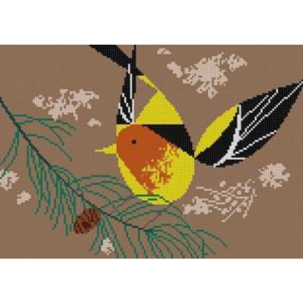 Western Tanager Canvas-Needlepoint Canvas-The Meredith Collection-KC Needlepoint