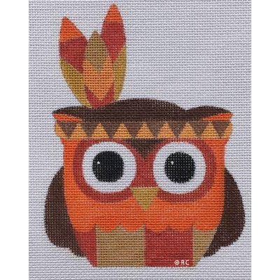 Mr. Native Owl Canvas
