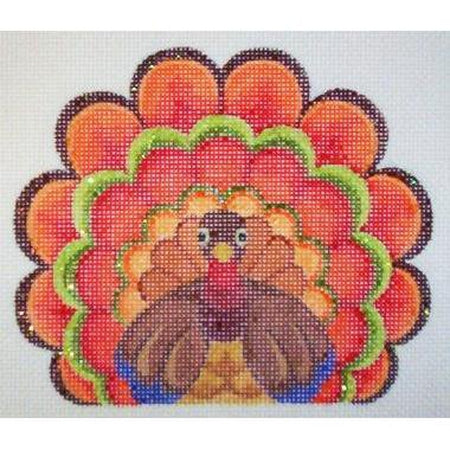 Turkey Canvas - needlepoint