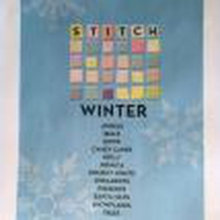 Stitch Winter Book - needlepoint