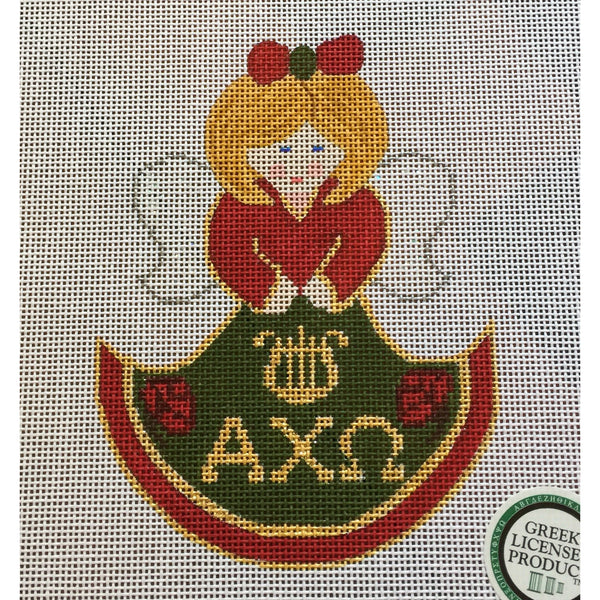 Alpha Chi Omega Angel Canvas