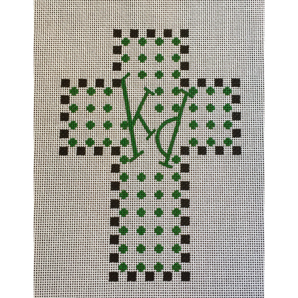 Kappa Delta Cross Canvas